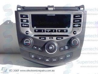 Honda Accord Stereo Repair