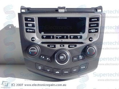 Honda Accord Stereo Repair