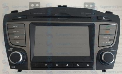 Hyundai ix35 No Sound Stereo Repair