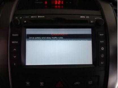 Kia Sorento Stereo Repair White Screen