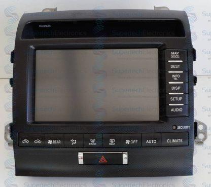 Toyota Sahara LCD Display Repair