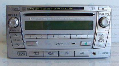 Toyota Yaris Stereo Repair 6CD