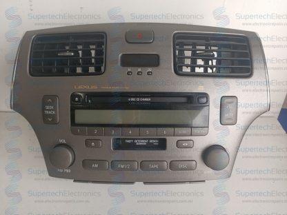 Lexus ES300 Stereo Repair
