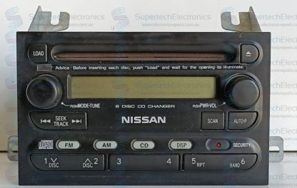 Nissan Navara D40 Stereo Repair