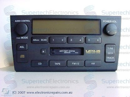 Lexus RX330 Stereo