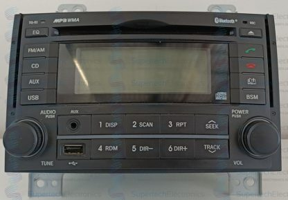 Hyundai iLoad Stereo Repair