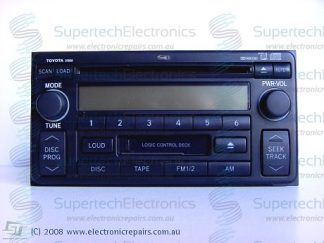 Toyota MR2 Celica Landcruiser Prado Stereo Repair