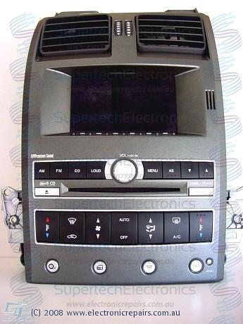 Ford Falcon BA Territory ICC Stereo Repair