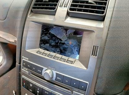 Ford Falcon BA LCD Damaged by a blade/knife