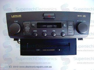 Lexus LS430 Stereo Repair