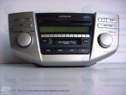 Lexus RX330 Stereo Repair