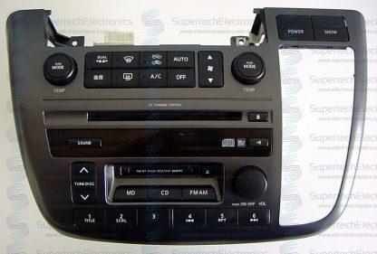 Nissan Elgrande CD Stereo Repair
