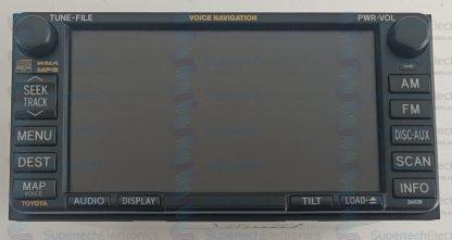 Toyota Prado Stereo Repair Navigation