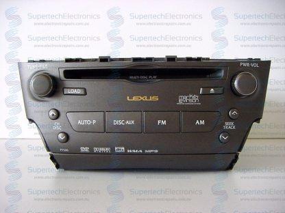 Lexus IS250 CD Changer Repair