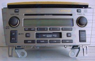 Lexus SC430 Stereo Repair