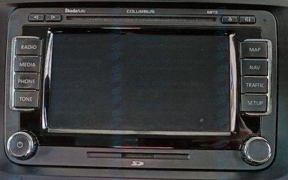 Skoda Superb RNS510 Stereo Repair