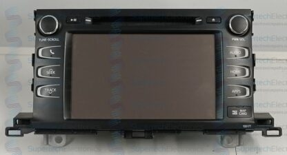 Toyota Kluger Stereo Repair