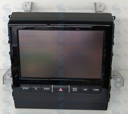 Toyota Landcruiser 200 Sahara Display Repair